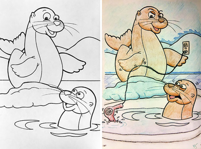 48 Reasons Why You Should Never Give Children\'s Coloring Books To Adults