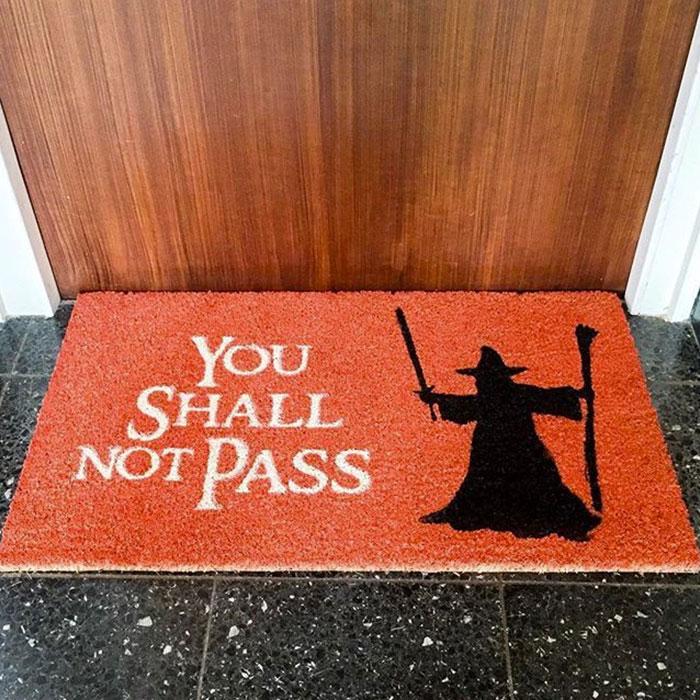 Výsledek obrázku pro most creative doormats enter