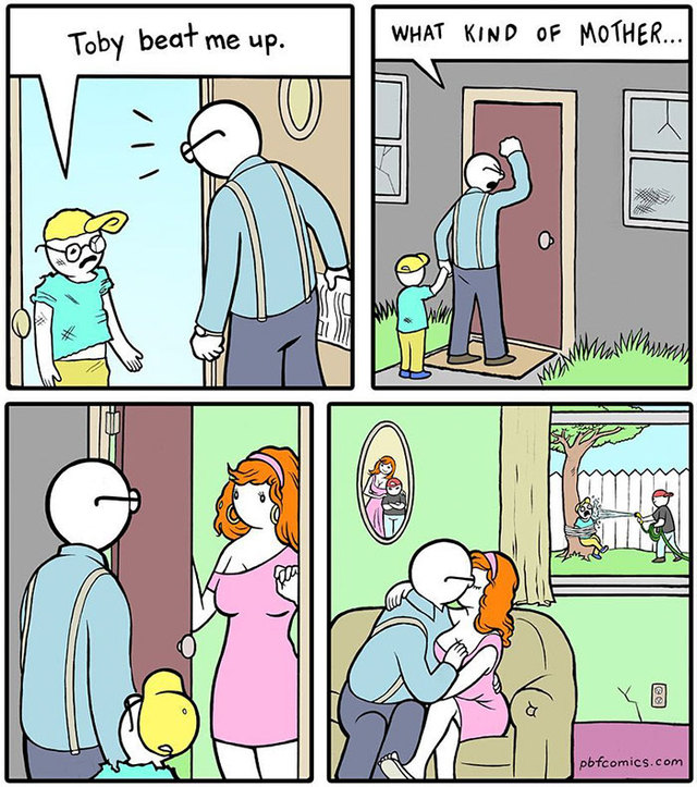 Hilarious Comics DeMilked - 20 hilarious comics that end with an unexpected twist by war and peas