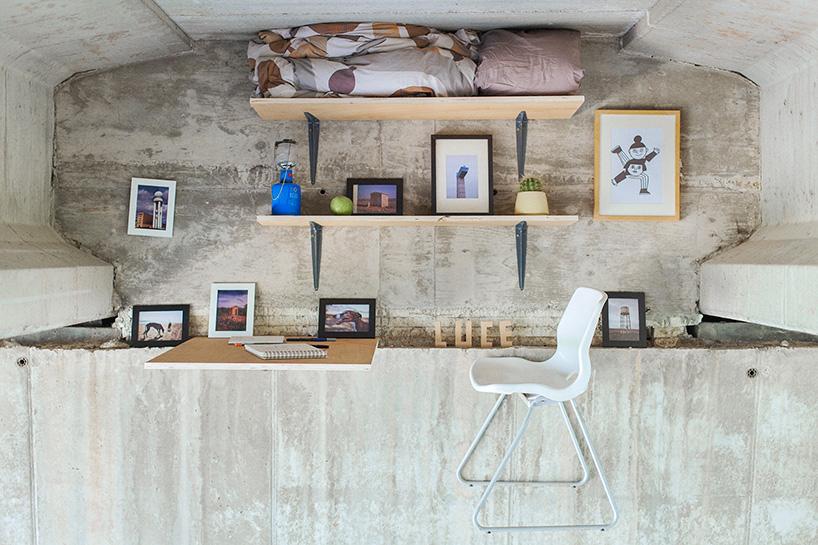Spanish Designer Builds A Secret Studio Beneath A Busy Bridge In - Designer builds a secret studio beneath a busy bridge in valencia