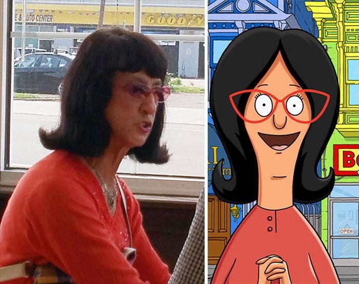 Funny Cartoon Character Look Alikes