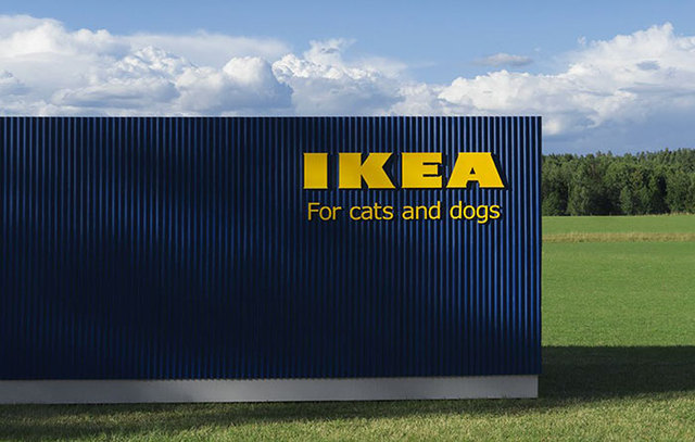Ikea just launched a furniture collection for cats and for Lurvig ikea