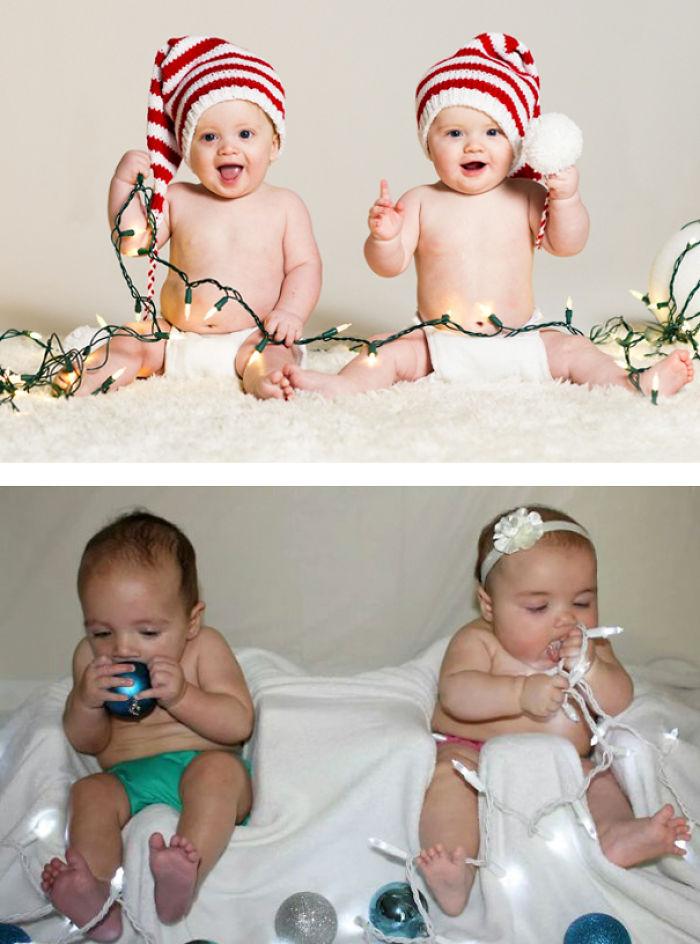7 christmas twins edition nailed it