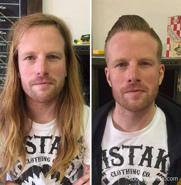 50 Incredible Before & After Photos That Prove A Good Barber