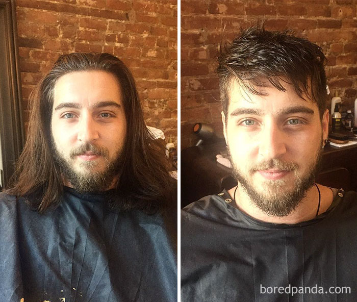 50 Incredible Before After Photos That Prove A Good Barber Is Like