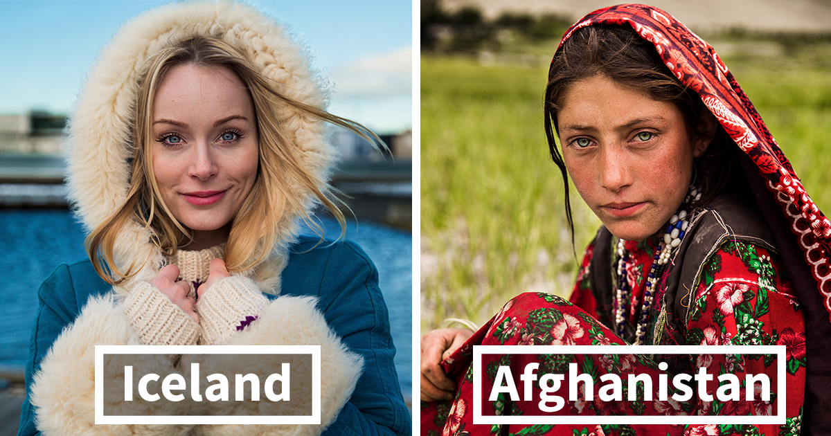 Photographer Took Pictures Of Women in 60 Countries To Change The Way We See Beauty