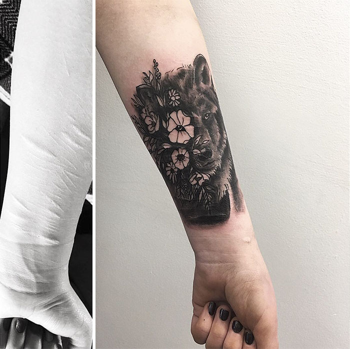 tattoos to cover up self harm scars and dating