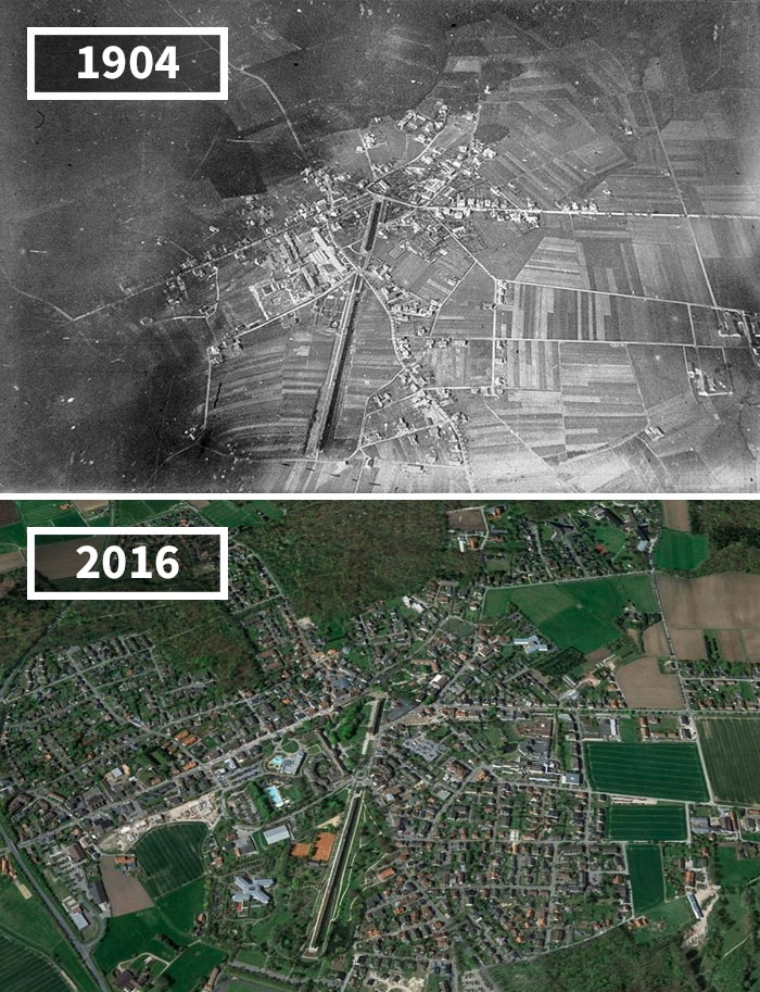 Before And After Photos Of How The World Has Changed Over Time - Germany map then and now
