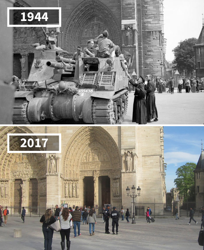 80 Before And After Photos Of How The World Has Changed Over Time