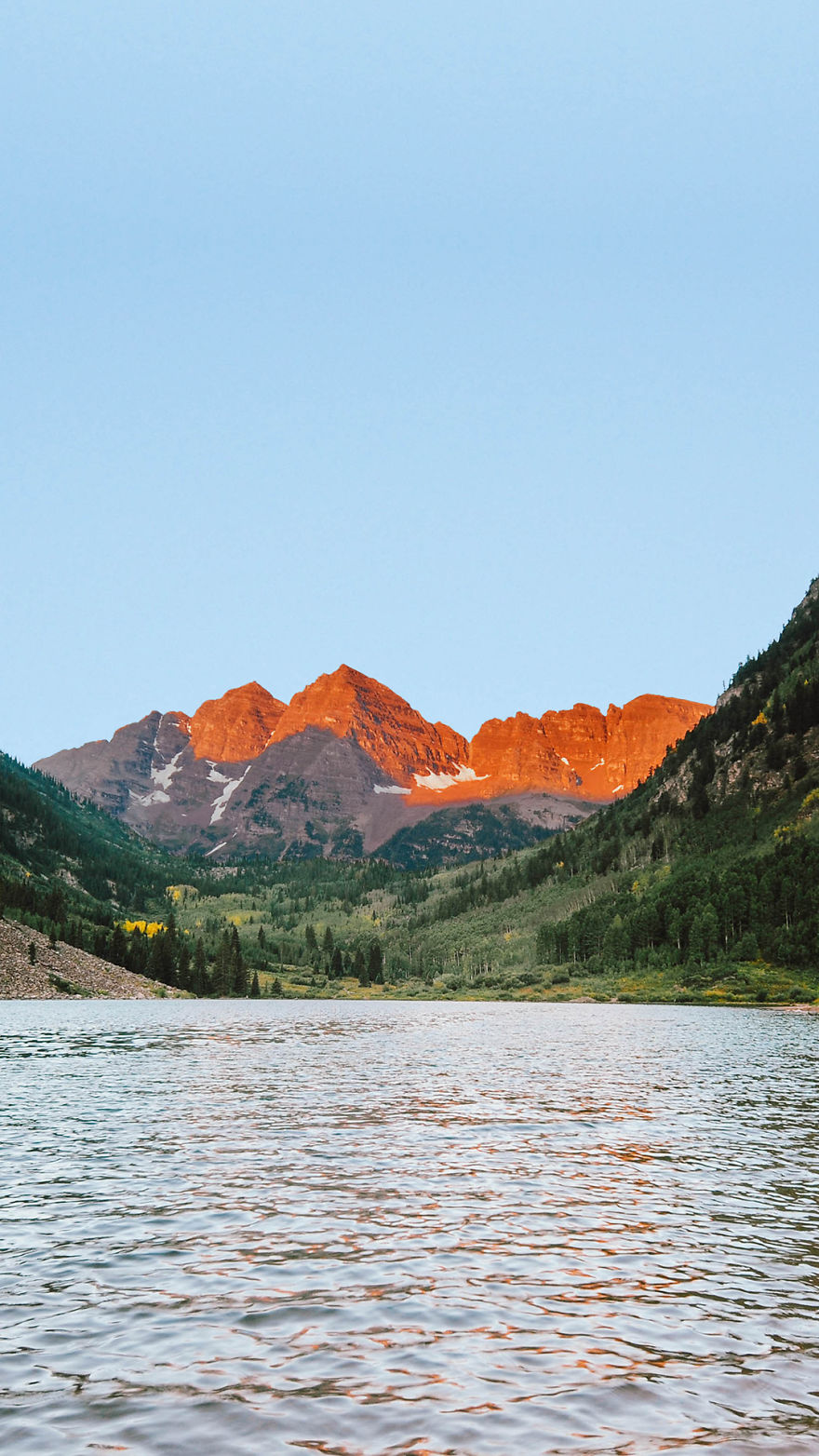 This Time He Aims To Produce The Next Generation Of Wallpapers For Smartphones Users Shot Is Titled Maroon Bells Colorado