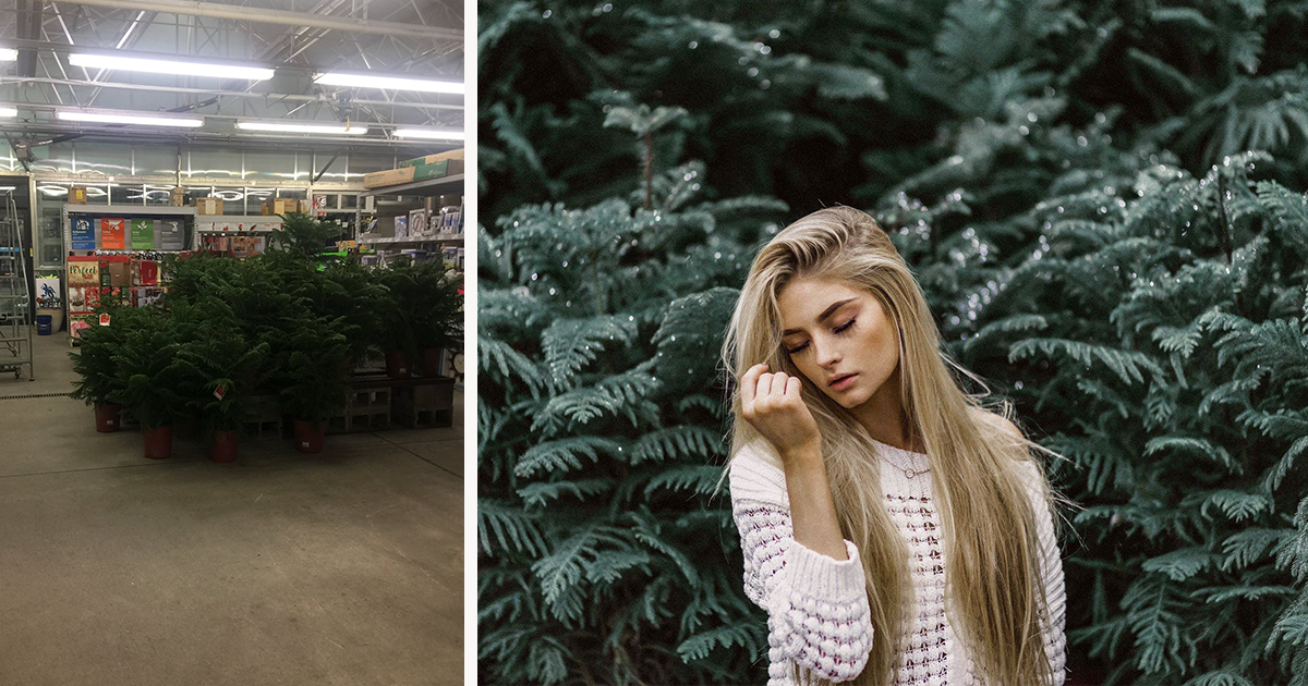 How Differently The Same 'Ugly' Location Looks To A Professional Photographer Vs. Amateur