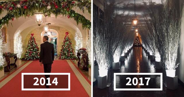 Melania S White House Christmas Decorations Look So Creepy