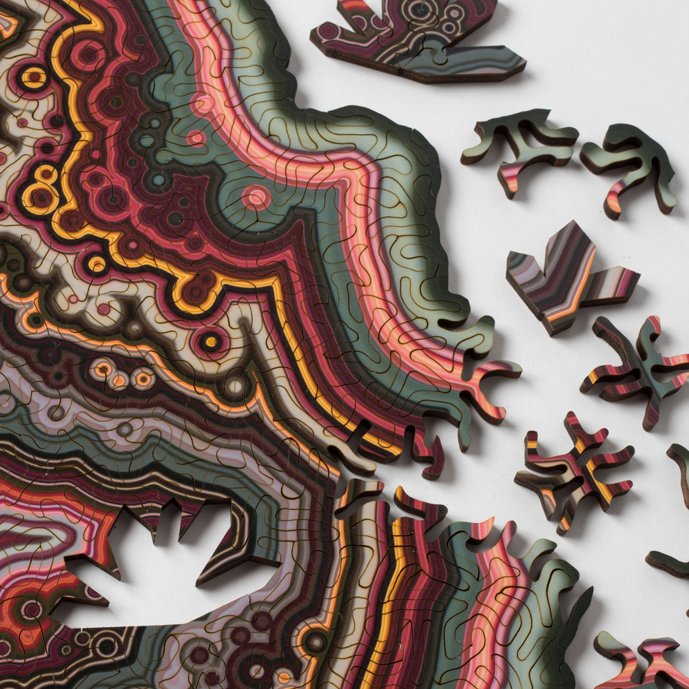 Unique Laser-Cut Jigsaw Puzzles Based On Geological Forms ...