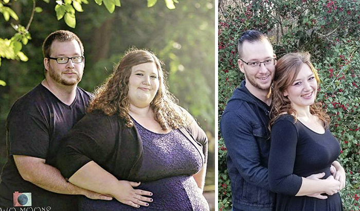 couple decide to start losing weight together and they re