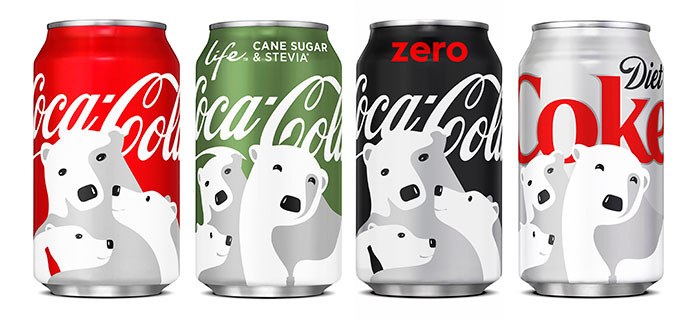 coca cola s holiday cans have cleverly hidden designs that will make