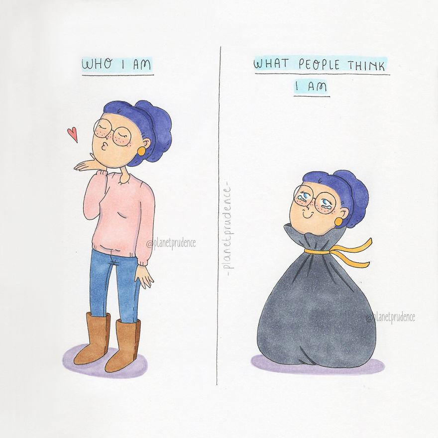Illustrator Depicts The Everyday Problems Of A Woman In These - Artist perfectly illustrates the daily struggles of being a woman