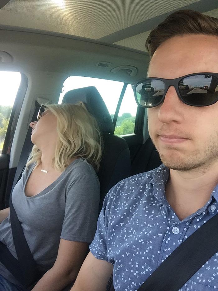 Wifes friend sleeps with us