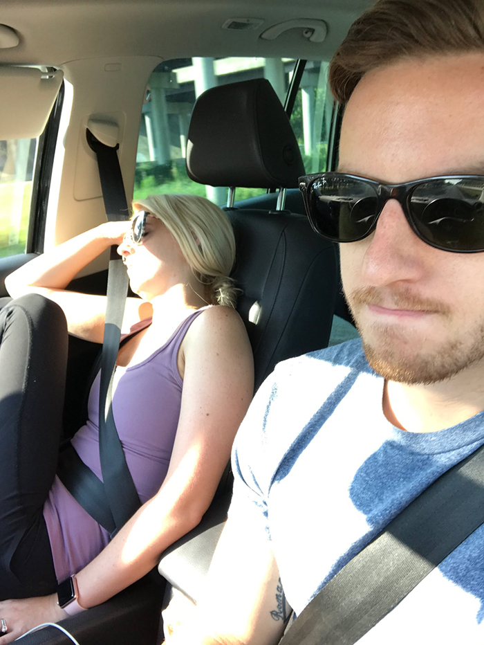 Husband Posts All The Photos Of Fun Roadtripping With His