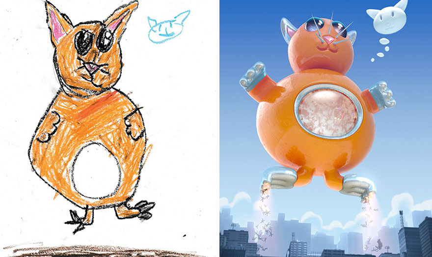 This Is What Happens When Professional Artists Reimagine ...