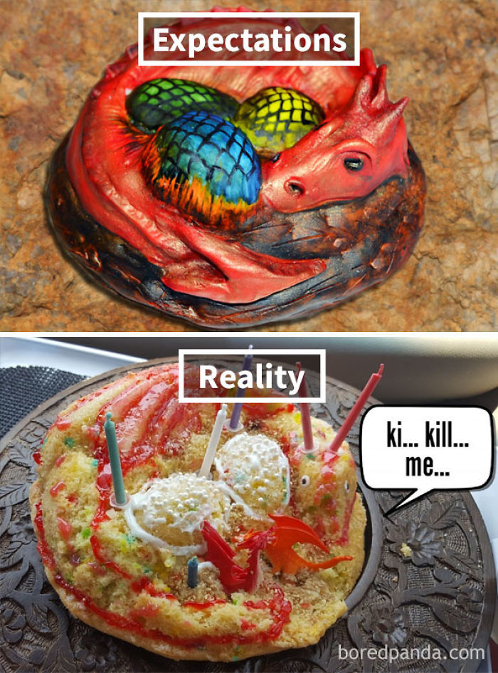 Dragon Cake Pan Tips
