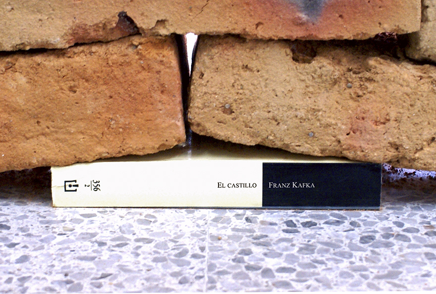 This Installation Shows The Power Of A Book By Distorting The Foundation Of  A Brick Wall | DeMilked