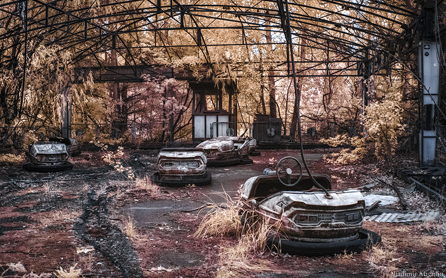 Chernobyl Captured With Infrared Photography And It Looks