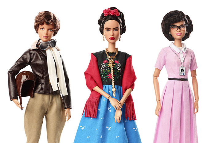 barbie unveils 17 new dolls based on inspiring women and