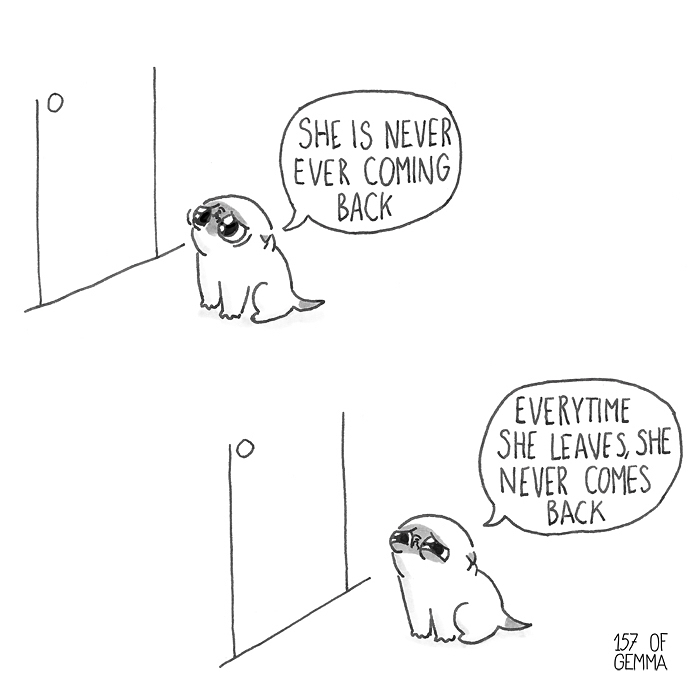 20+ Hilarious Comics That Illustrate What It's Like Living With A Dog