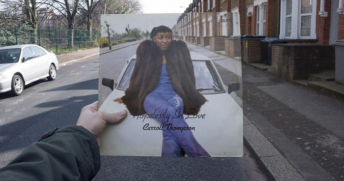 Photographer Spends 10 Years Tracking Down The Original Locations Of Vinyl Covers