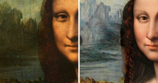 people want the mona lisa to be cleaned up so someone just