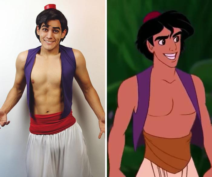Aladdin gay cartoon