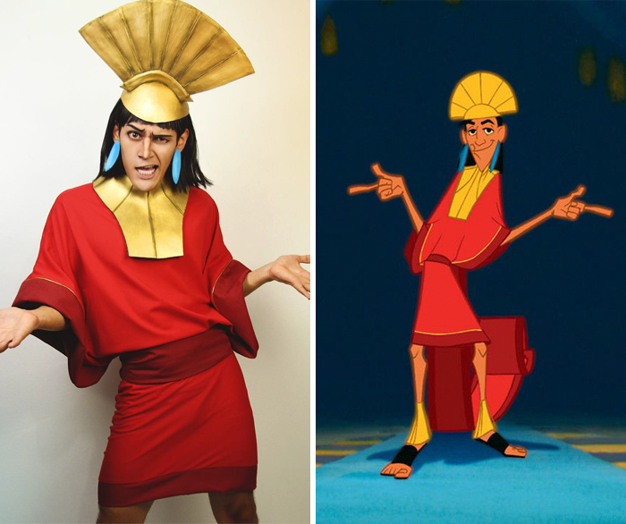 emperor kuzco from the emperors new groove