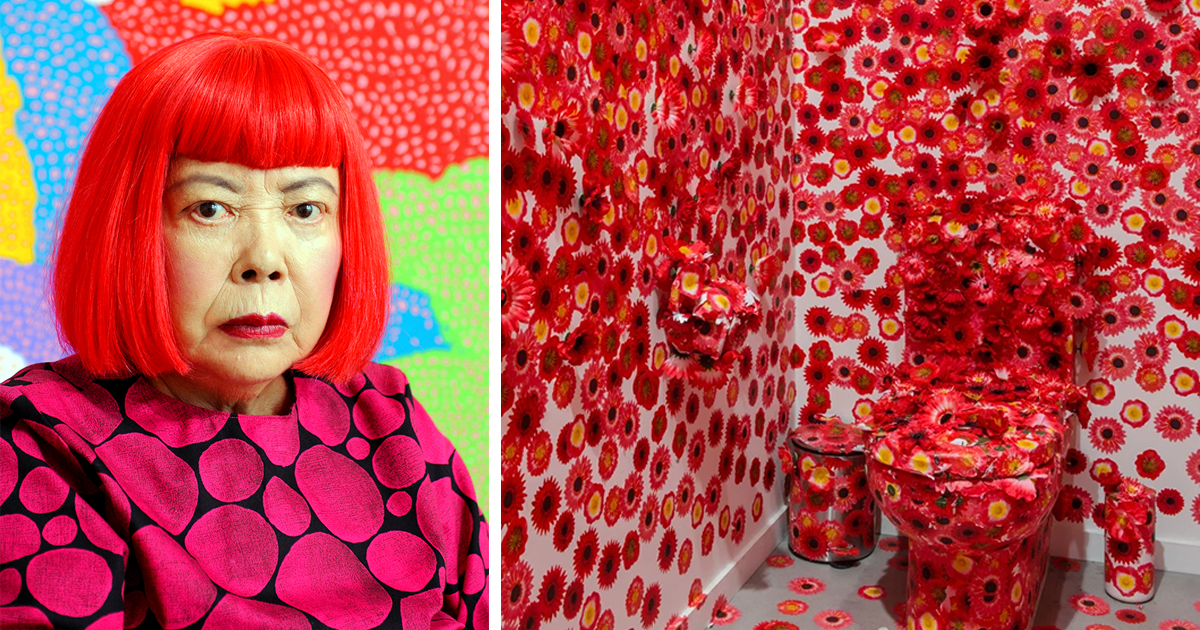 Japanese Artist Covers The Entire Apartment With Flowers