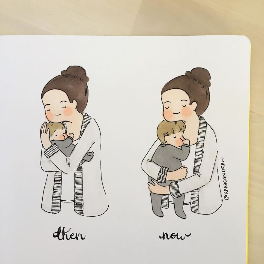 30 Illustrations That Capture Struggles And Joys Of Being A
