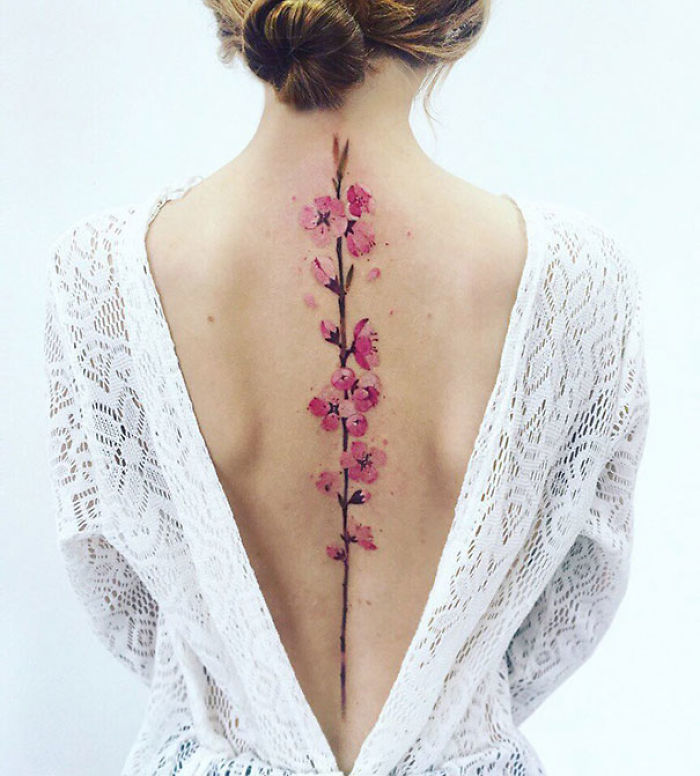 20 Stunning Spine Tattoo Ideas That Will Make You Want To Get Inked
