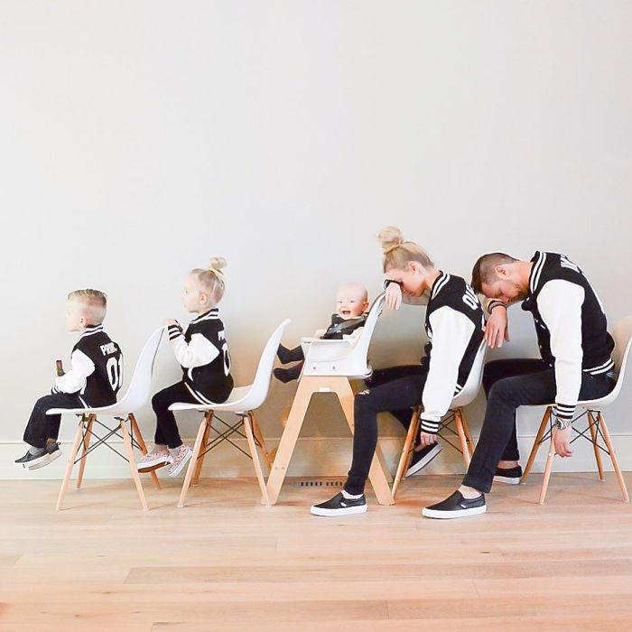 Mother Of Three Fights Boredom By Creating Unique Pictures Of Her Family Demilked