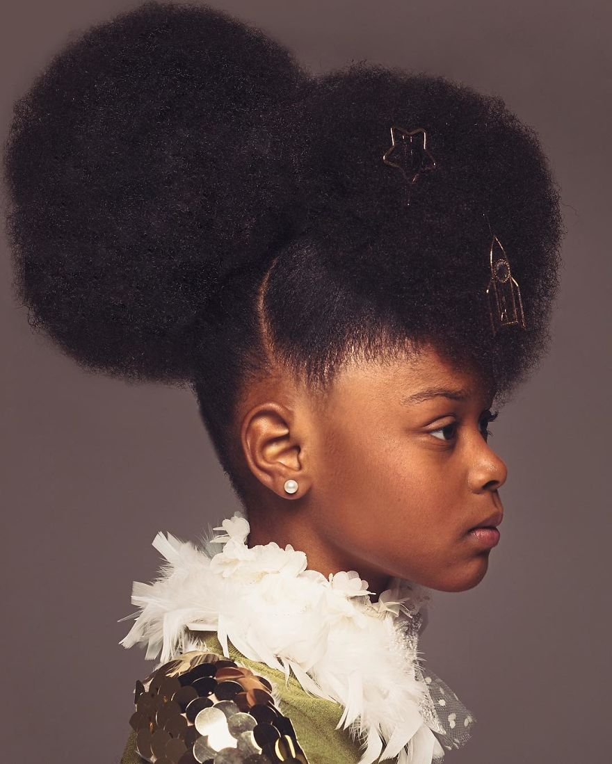 Black Girls Rock Their Natural Hair In Baroque Inspired Shoot And