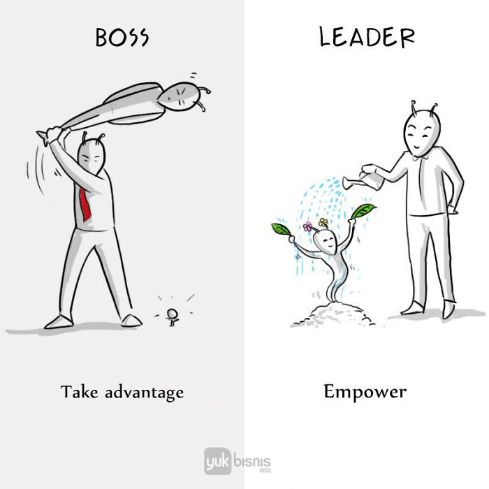 The True Differences Between A Boss And A Leader Revealed In