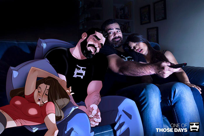 Artist Keeps Illustrating Everyday Life With His Wife, And Now It's Time To  Meet The Couple Behind Them | DeMilked