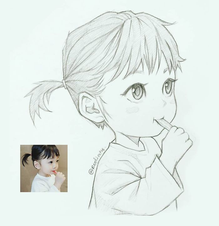 cartoon cartoons sketches drawing characters demilked indonesian incredibly accurate results artist portraits