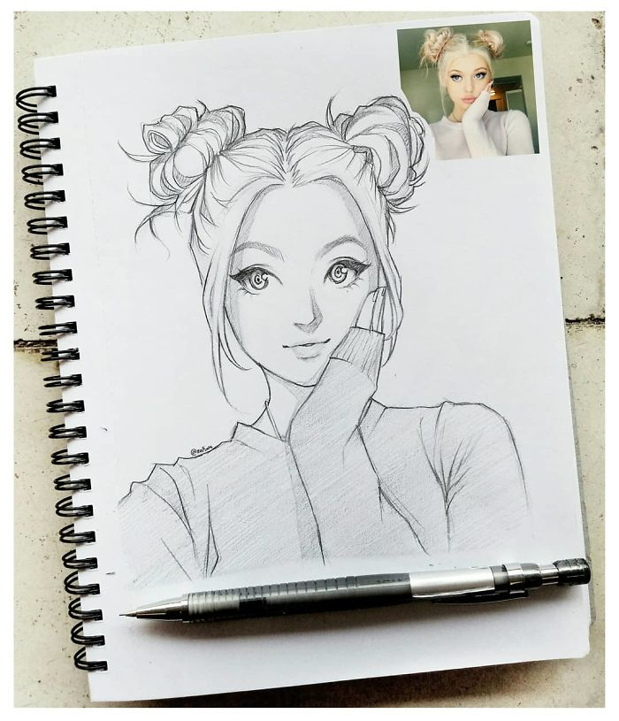 cartoon sketches cartoons drawing characters artist demilked accurate indonesian incredibly results portraits