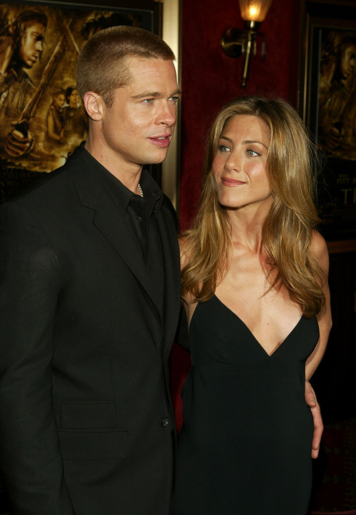 someone noticed that brad pitt always looks like the woman