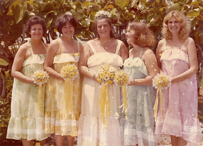 f7f16cf62c2 15+ Hilarious Vintage Bridesmaid Dresses That Didn t Stand The Test Of Time