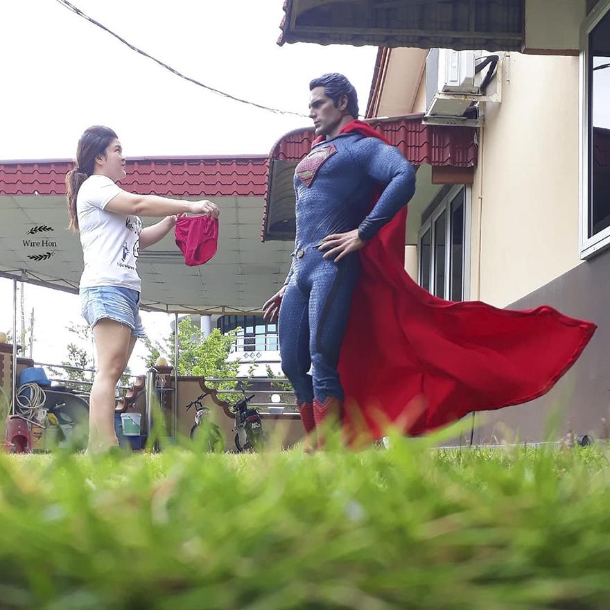 Super Man Action Figure