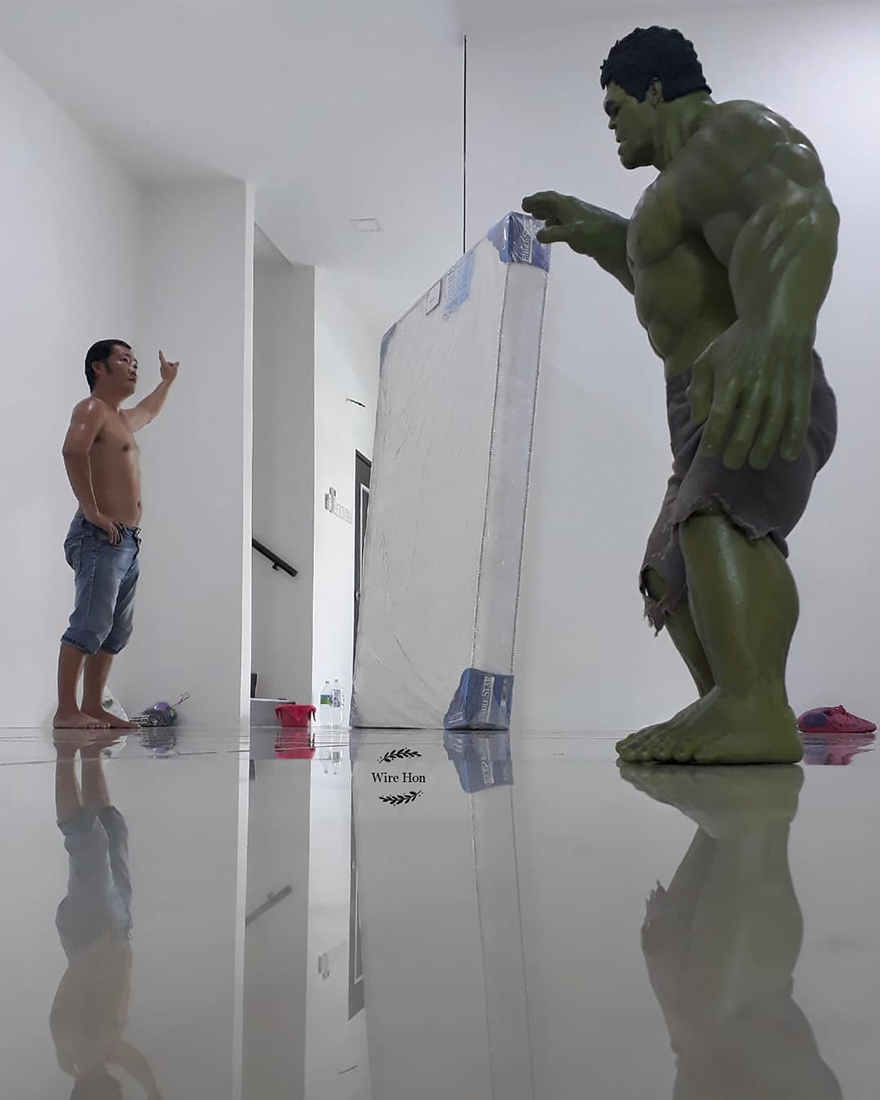 Incredible Hulk Action Figure