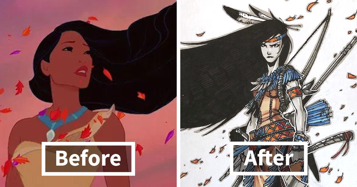 11 Disney Warrior Princesses Turned Badass By Russian Artist Artemii Myasnikov