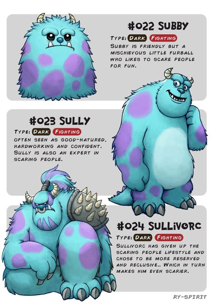 This Artist Reimagined Famous Disney Characters As Pokemon