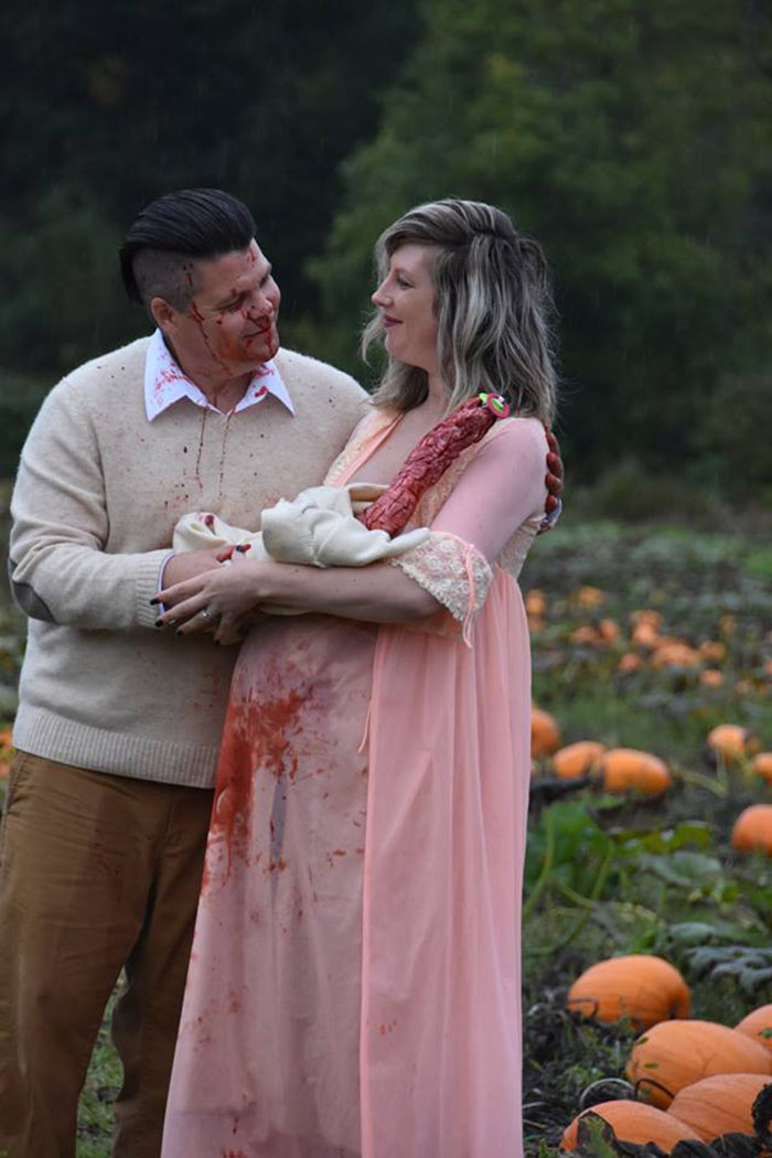 This Couple S Maternity Photo Shoot Is The Most Terrifying