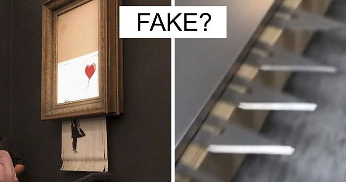 This Guy Noticed Something Doesn T Add Up In Banksy S