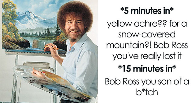 Image result for bob ross meme